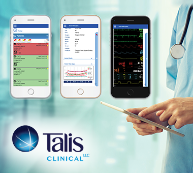 Talis ACG-RemoteView ICU™ System supports higher acuity patient care with real-time surveillance utilizing mobile technology.